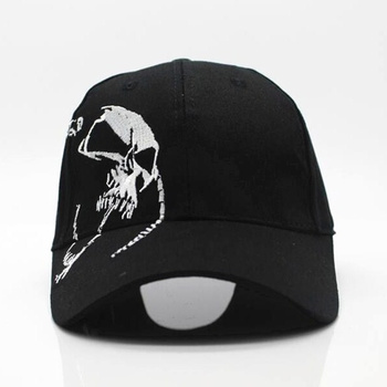 2018 High Quality Unisex 100% Cotton Outdoor Baseball Cap Skull Embroidery Snapback Fashion Sports Hats For Men & Women Cap fashion five pointed star shape embroidery camouflage pattern baseball cap for men