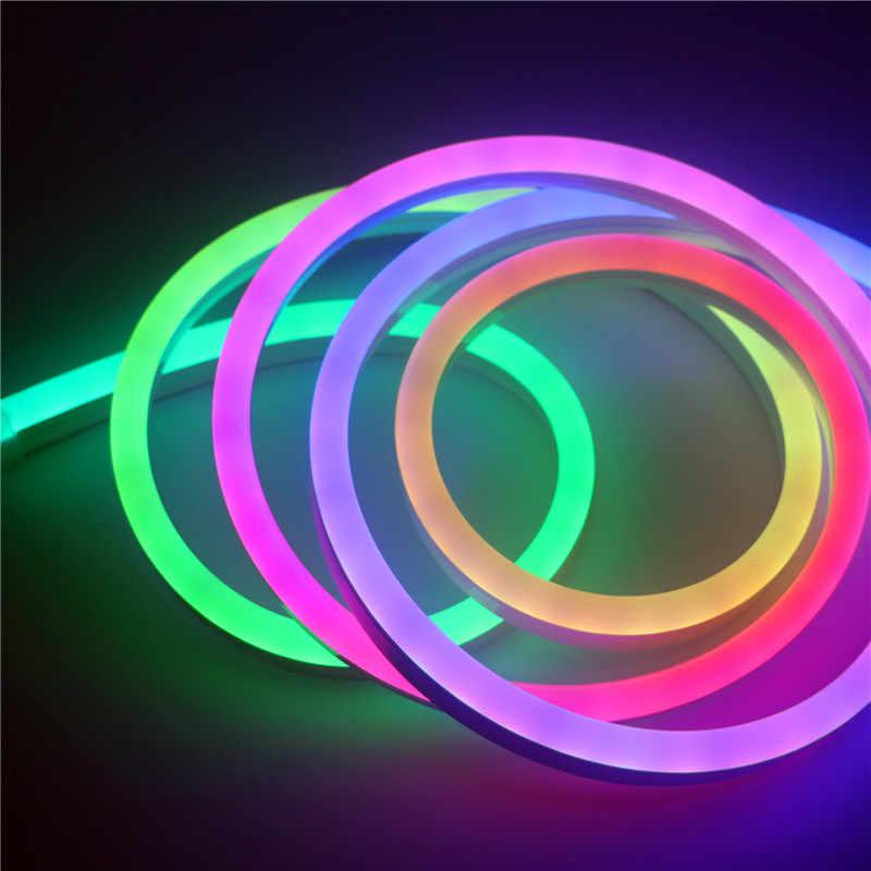 DC12V RGB Led ネオンロープ WS2811 ピクセルストリップライト WS2812B WiFi ミニピクセルコントローラ 5A 電源アダプタアドレス可能個別に 5 M