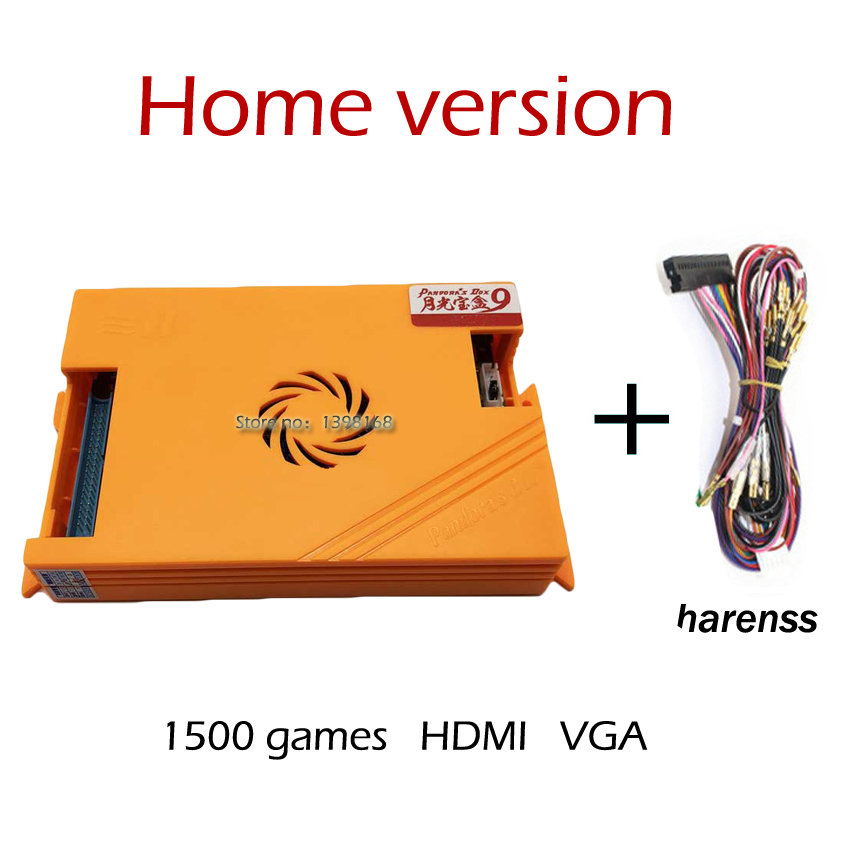 Original Pandora Box 9 Home Edition 1500 in 1 Games board Family Version for Game Joystick