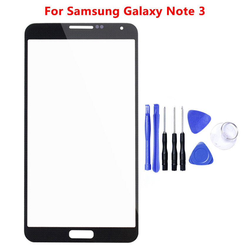 Touch Screen Sensor Front Panel Digitizer Glass For Samsung Galaxy Note 2 3 4 5 N7100 N9000 N910 N920 Note4 Note5 Replacement