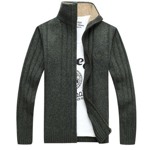 2018 Herbst Neue Männer Pullover Casual Pullover Männer Hals Neck Patchwork Qualität Gestrickte Marke Männlichen Pullover