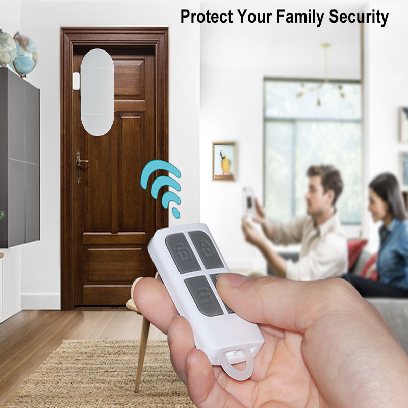Personal Home Security Magnetic Sensor 130DB Alert Door Window Bell Burglar Alarm For Home Business Kids Wireless Sensor Alarm