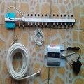 3g repetidor de señal de teléfono celular 3g amplificador de señal, WCDMA 2100 mhz 3g amplificador de señal con cable yagi 18dbi 3g conjunto completo