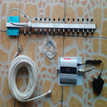 3g signal repeater cell phone 3g signal booster, WCDMA 2100mhz 3g signal amplifier with 18dbi 3g yagi cable full set
