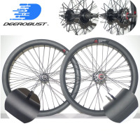BMX RACE 20 BSD 406mm 406 30mm x 30mm Road Bicycle Carbon Wheels Clincher Bike Wheel set 20 inch 36 holes UD matte
