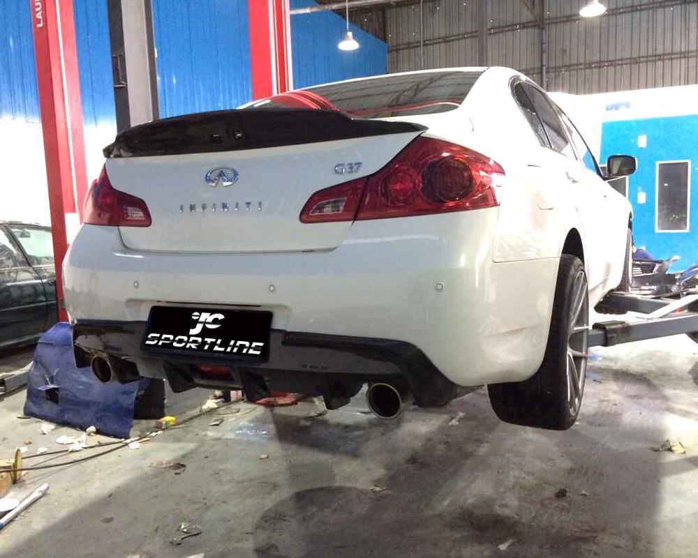 Buy carbon fiber g37 rear bumper lip for Jc motors used cars