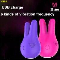 DIBE Mini Rabbit vibrator Sex đồ chơi cho woman và các cặp vợ chồng máy rung dành cho phụ nữ Âm Vật kích thích và núm vú sản phẩm Tình Dục Khiêu Dâm đồ chơi