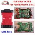 2017 Venta Superior Para Ford VCM IDS 2 V101 OBD2 de Chip Completo OEM Herramienta de diagnóstico Para Ford y Mazda VCM2 VCM II OBDII Escáner de Dhl