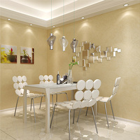 High Quality Waterproof PVC Wallpaper Roll For Wall Modern Elegant Flax Solid Color Simple Silk Wall