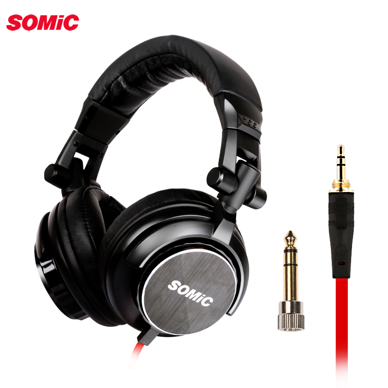 Somic MM185 DJ deep bass headphones hifi earphone headphones 3 5mm plug music headset for computer