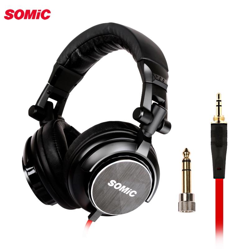 Somic MM185 DJ casque de basse profonde hifi écouteurs 3.5mm plug musique casque pour ordinateur PC téléphone mp3-in Écouteurs et casques from Electronique    1