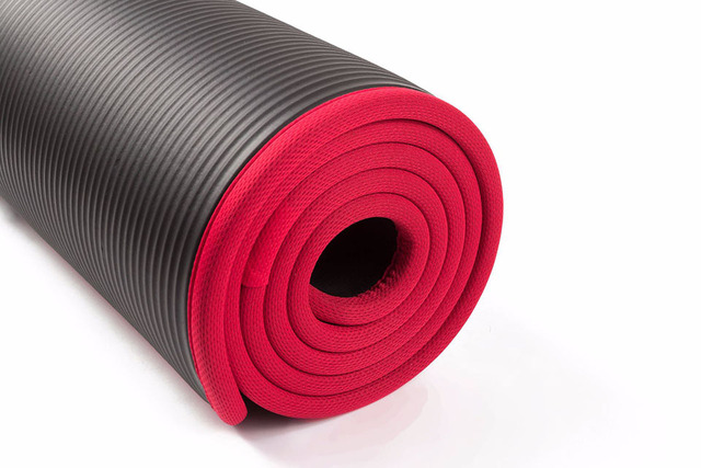 Yoga Mats For Fitness- 10MM Extra Thick 183cmX61cm High Quality NRB Non-slip