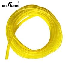 KELKONG 1 метр с диаметром внутренний диаметр 3,0 мм* 5 мм желтая труба топливный фильтр линия масляная труба топливный бак запасные части