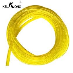 KELKONG 1 метр с диаметром внутренний диаметр 3,0 мм * 5 мм желтая труба топливный фильтр линия масляная труба топливный бак запасные части