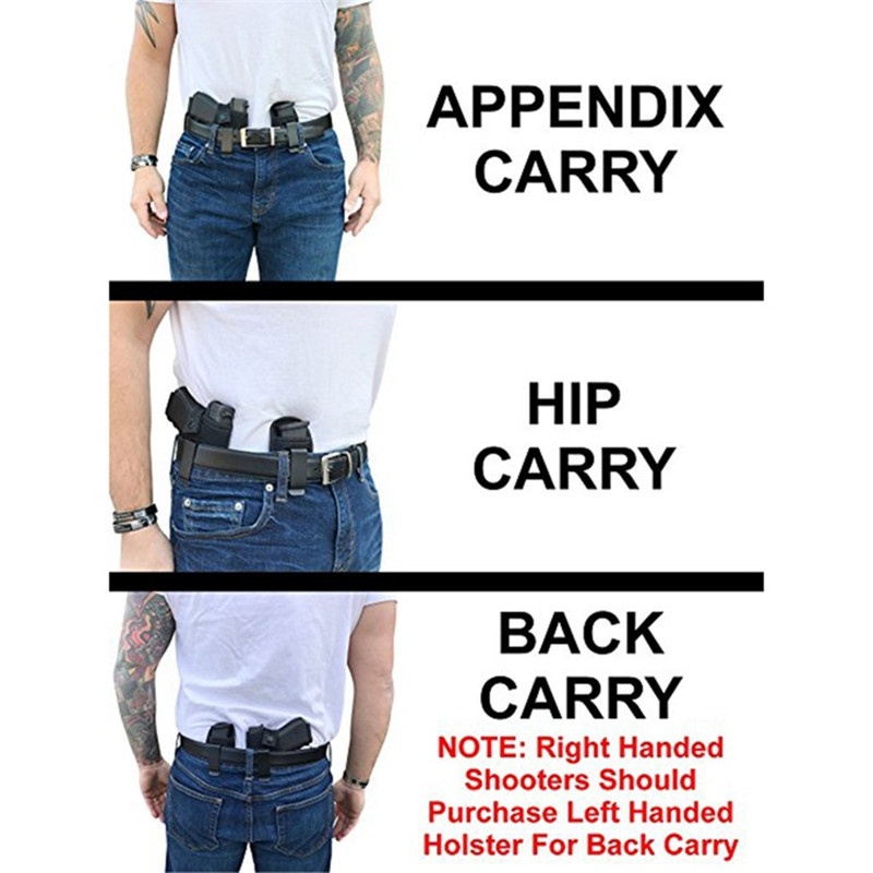 Image 5 - Concealed Carry Gun Holster Bag Universal Neoprene IWB Holster With Extra Mag Holster Pouch For All Sizes Handguns Hunting-in Holsters from Sports & Entertainment
