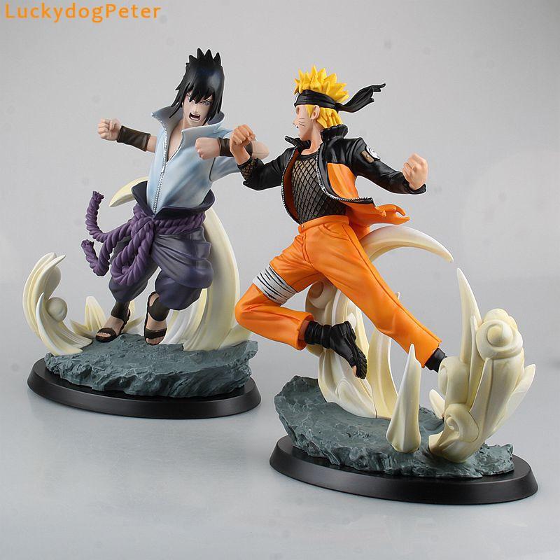 Naruto Shippuden Naruto Vs Sasuke Action Figures Sasuke