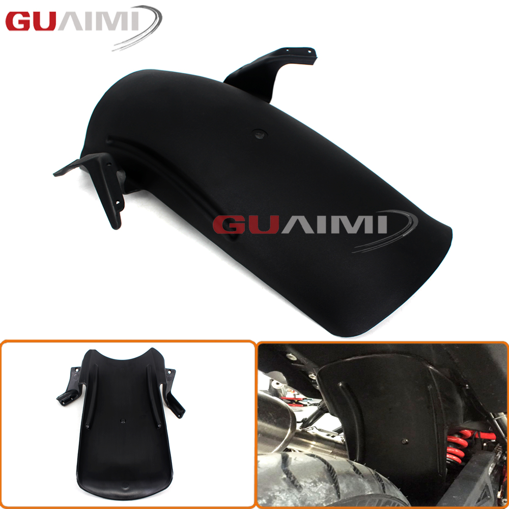 For BMW F800GS F700GS ADV Rear Tire Hugger Mudguard Fender for For BMW F800GS F700GS ADV 2013 2014 2015 2016 titanium cnc aluminum rear tire hugger fender mudguard chain guard cover for yamaha mt07 2013 2016 fz07 2013 2014 2015 2016