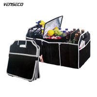 VENSECO Car Trunk Bag Arrange To Receive Folding Car Tool Bag Universal Trunk Storage Box Separated