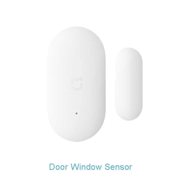 Xiaomi zestawy smart home Mijia bramy drzwi okna czujnika ludzkiego ciała czujnik temperatury i wilgotności przełącznik bezprzewodowej Zigbee gniazdo