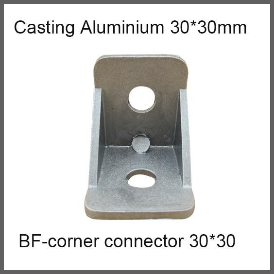 3030 Aluminum Corner Connector Corner Fitting 90 degree Angle Decorative Brackets Aluminum casting  Accessories L Connector dunlop winter maxx sj8 225 65 r18 103r