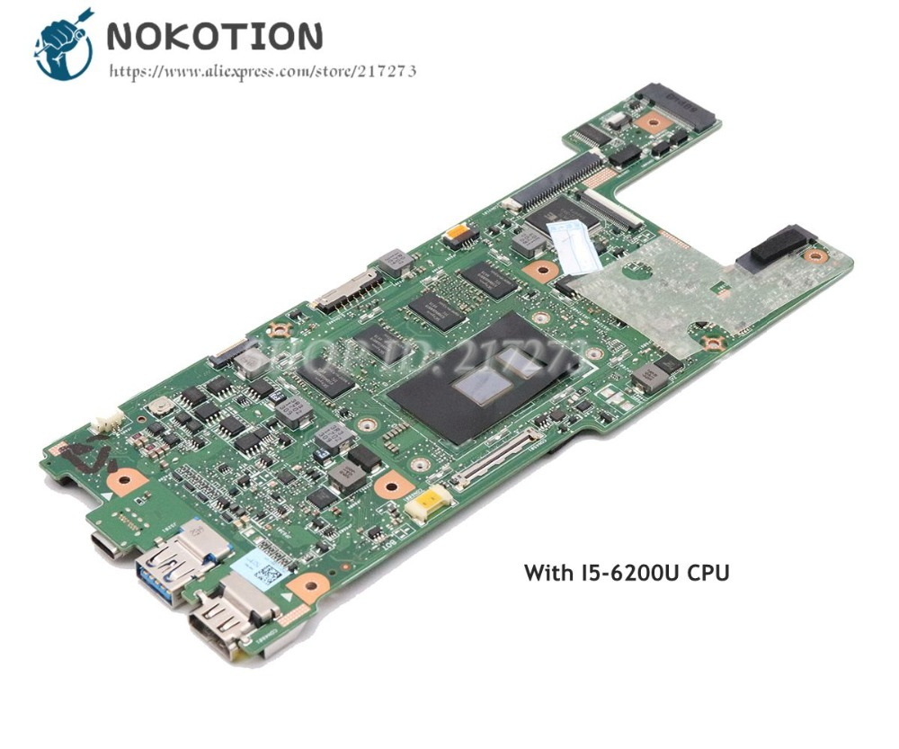NOKOTION For Acer Swift3 SF314 SF314-51 Laptop Motherboard NBGKK11002 NB.GKK11.002 CA4DB CA4DB_10L SR2EY I5-6200U CPU
