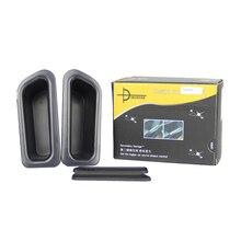 Carmonsons для VOLVO S60 V60 2009-2016 дверные ручки подлокотник контейнер держатель лотка коробка для хранения Организатор Интимные аксессуары стайлинга автомобилей