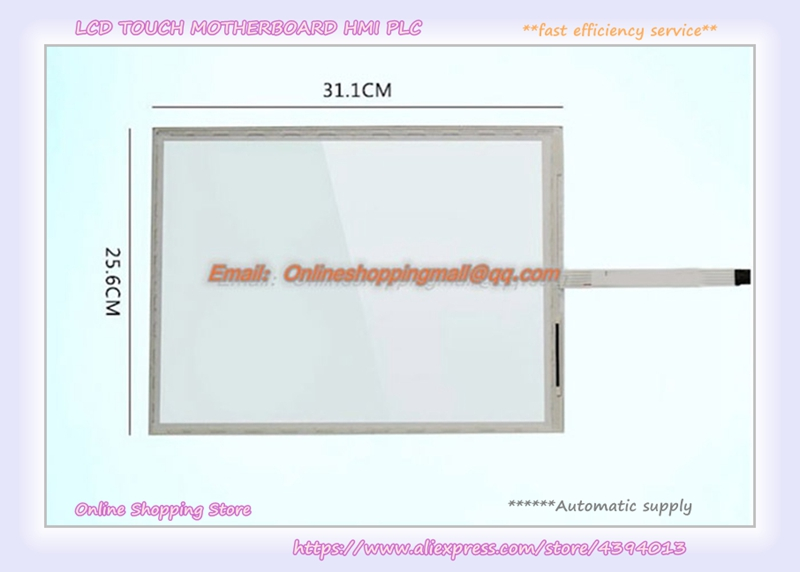New original offer touch screen panel 15 inch 5 Wire SCN-AT-FLT15.0-001-OH1 5 wire 12 1 inch elo touch screen scn at flt 12 1 z01 oh1 r elo 12 3 inch 5 wire touch screen win10 compatible