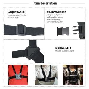 Image 3 - Accessories Set For Gopro Hero 6 5 Chest Mount For Go pro Hero 5 Float Grid For Xiaomi Yi 4K SJCAM Kit For EKEN H9 Action Camera