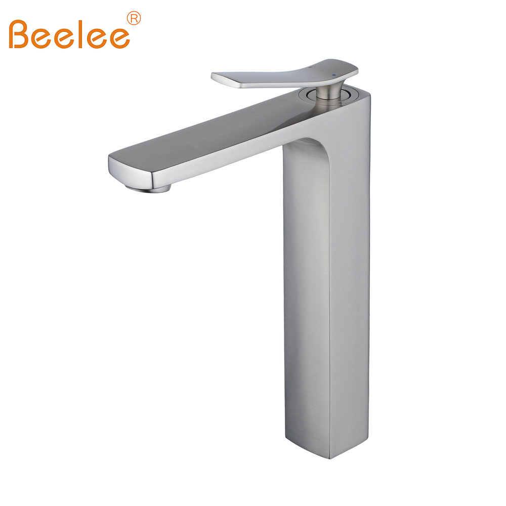 Hot Sale Beelee Brushed Nickel Bathroom Taps Mixer Single Handle ...