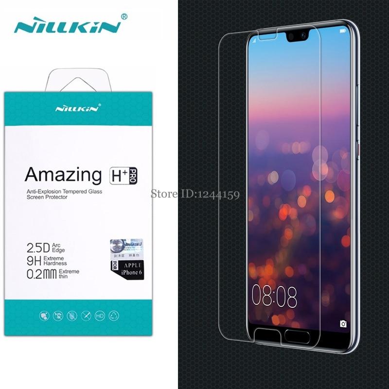 Nillkin protecteur d'écran pour Huawei P20/P20 Pro verre trempé incroyable H H + PRO verre pour Huawei P20 Pro P20pro téléphone