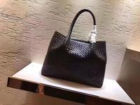 Для женщин сумки пояса из натуральной кожи овчины Мягкий Вязаный женский плечо Carry Tote кошелек сумка комплект роскошные брендовая дизайнерс