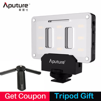 Aputure AL M9 Pocket Mini LED Video Light For Canon Nikon Sony Rechargeable Built In Battery