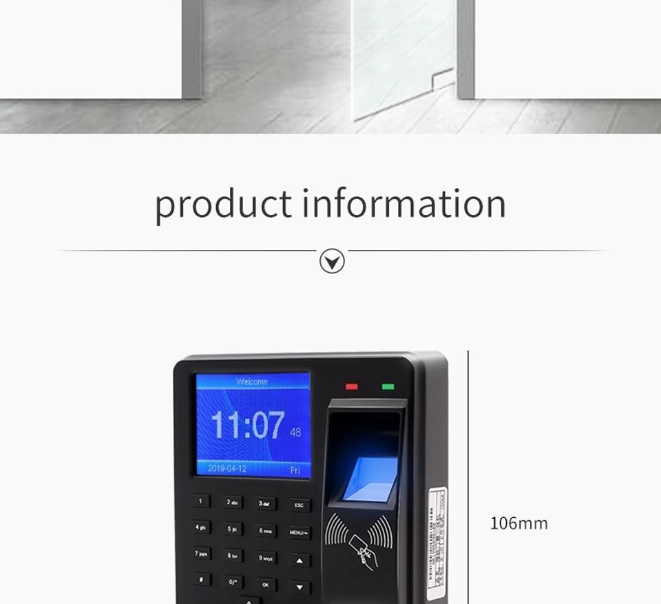 HTB13hY aQT2gK0jSZPcq6AKkpXak BX6 BX10 Biometric Fingerprint Access Control Intercom Machine Digital Electric RFID Code System For Door Lock Keys Tags