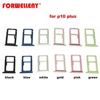Dla huawei p10 plus tacka na karty sim tacka na kartę adaptery czarny niebieski biały złoty różowy zielony VKY-AL00, VKY-L09, VKY-L19, VKY-L29