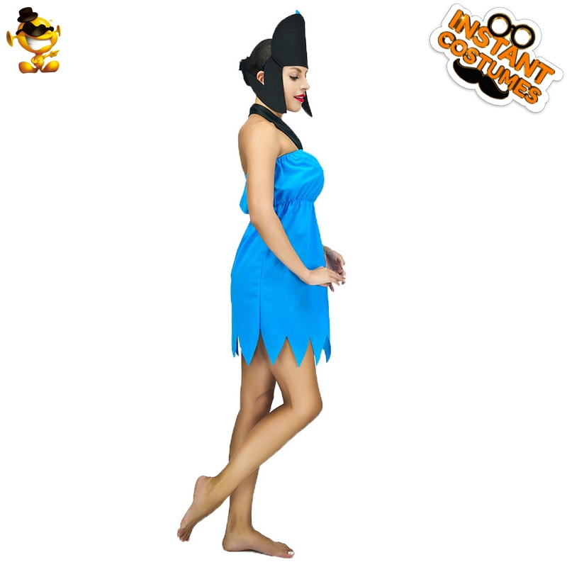 Da Donna I Flintstones Betty Rubble 60s FILM /& Tv Costume
