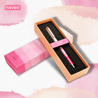 Never Watercolor Collection Gel Ink Pen 0 5mm Black Ink Pen Gel Pen Gift Packing Kawaii