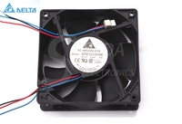 Free Shipping Delta 12038 Pairs Of Ball Bearing Fan AFB1212VHE 120mm 12CM Ultra Durable