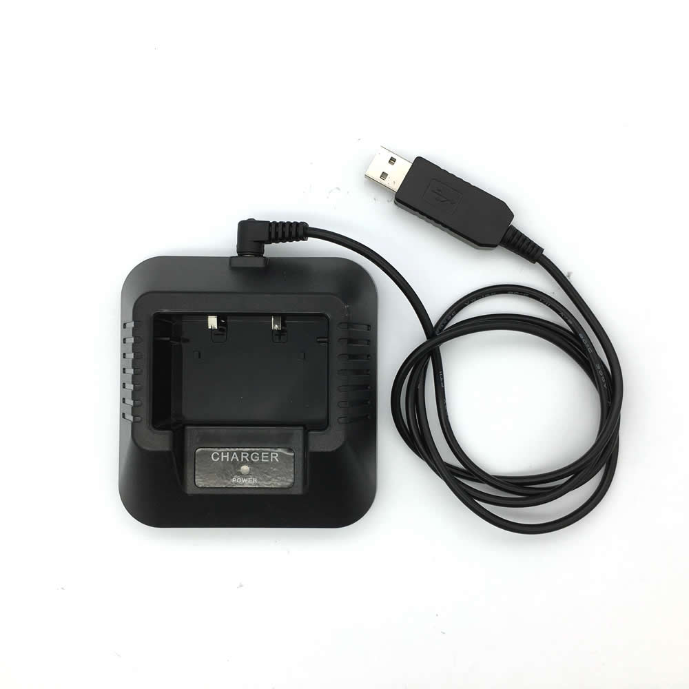 For Baofeng UV-5R USB Charger For Portable Two Way Radio Walkie Talkie Baofeng UV5r Uv-5re 5RB UV5ra Battery Charger Accessories
