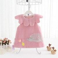 Baby Girl Dress Winter Clothes Princess 2018 Autumn Fashion Cartoon Infant Party Dress For 1st Birthday Dress Newborn Dresses