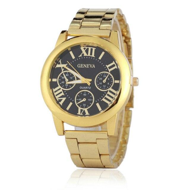 70eea3c8fc24 Часы Для женщин золотые женские часы Элитный бренд показывает женщина  браслет Дизайн золотые часы кварцевые часы
