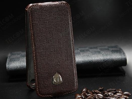 Funda para iPhone SE 5S 5 Funda de cuero genuino de lujo vintage con - Accesorios y repuestos para celulares - foto 2