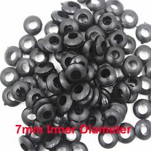 цена на 7mm inner diameter wire rubber seal grommets ring cable protection hole plug