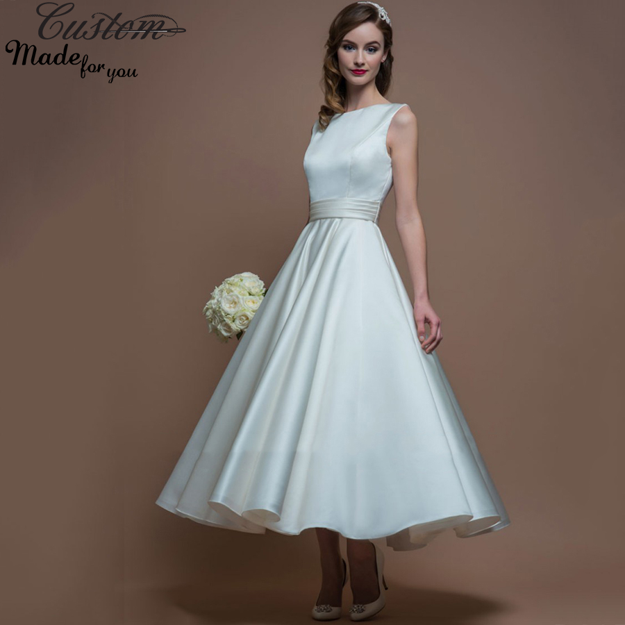 Popular informal plus size wedding gowns buy cheap for Simple casual wedding dresses