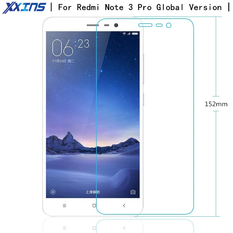 Tempered Glass For Xiaomi Redmi Note 3 Pro SE Special Edition Official Global Version Redmi 3S Note 4 4X Mi 6 5 Screen Protector