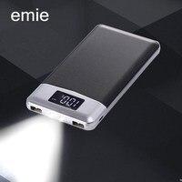 18650 Power Bank 20000mAh External Battery Portable Mobile Phone Charger Universal Dual USB Powerbank For Phones