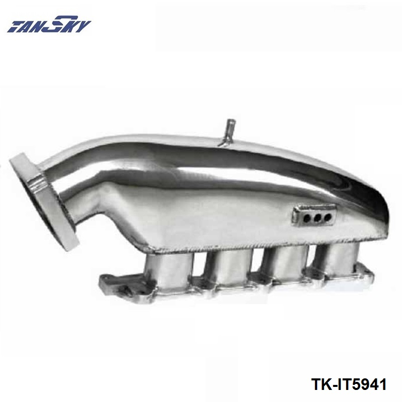 TANAKY - Engine Swap Turbo Intake Manifold For MITSUBISHI EVO 1-3 High Performance Polished TK-IT5941 цены