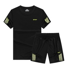 Football Suit Running Men Designer Quick Dry Short Shirts Slim Fit Tops Tees Sport s Fitness Gym  Muscle