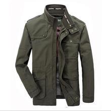 The new 2017 men jacket leisure men's jackets Plus size M-7XL Many pockets coat man