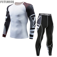 Mens Compression Shirts 3D Teen Wolf Jerseys Long Sleeve T Shirt Fitness Men Lycra MMA Crossfit T Shirts Tights Brand Clothing