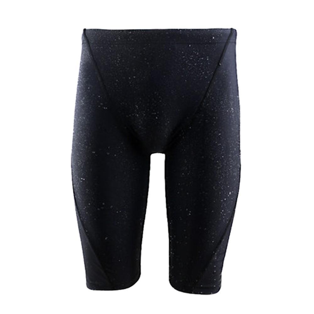 Water Repellent Men's Long Racing Swimming Trunks Sport Shorts Waterproof Men Swimwear Beach Wear Briefs Athletic Swimsuit